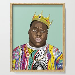 Biggie, notorious BIG Serving Tray