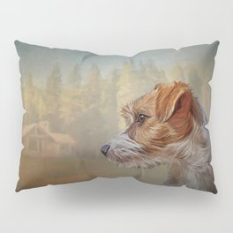Jack Russell Terrier dog Pillow Sham