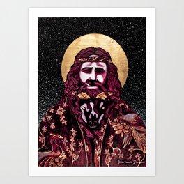 Totes-My-Goats Art Print