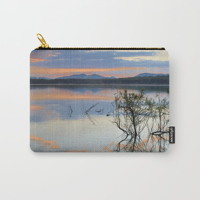 """""""Magic sky"""". Sunset at the lake. Carry-All Pouch"""