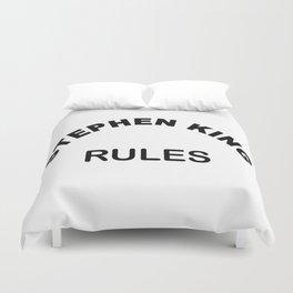 Stephen King Rules 2 Duvet Cover