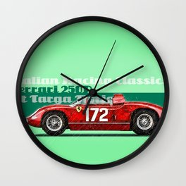 250P at Targa Florio Wall Clock