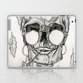 Over My Dead Body Laptop & iPad Skin