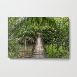 Bridge to Paradise - Costa Rica Metal Print