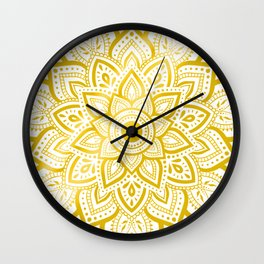 Pure Gold Wall Clock
