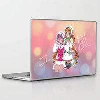 yaoi Laptop & iPad Skins featuring Yuri Kuma Arashi by Neo Crystal Tokyo