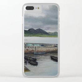 Roundstone Harbour, Connemara, Gallway, Ireland Clear iPhone Case