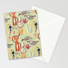 Rain forest animals 004 Stationery Cards