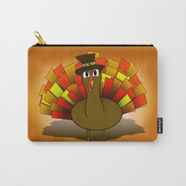 Thanksgiving Turkey Pilgrim Carry-All Pouch