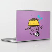 musa Laptop & iPad Skins featuring Lusa Musa© of MILK FACTORY ® by Mimi Guarnero