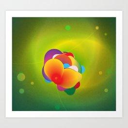 Hydrogenation Metal Catalyst  Art Print