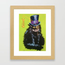 Cat Begemot Framed Art Print