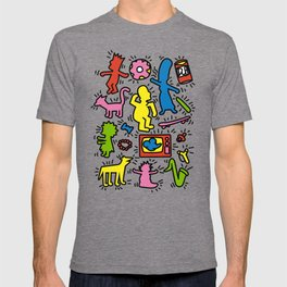 Keith Haring & Simpsons T-shirt