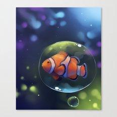 clown fish Canvas Print
