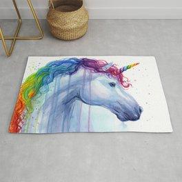 Magical Rainbow Unicorn Rug