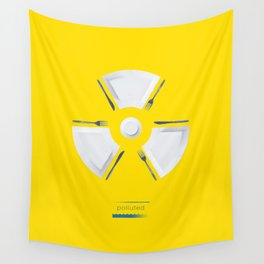 Polluted - Dinner Time Wall Tapestry