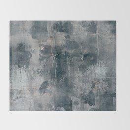 tex mix grey Throw Blanket