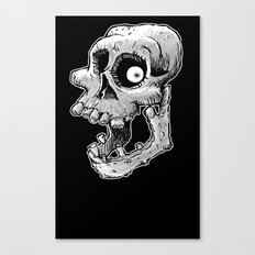 Bone head Canvas Print