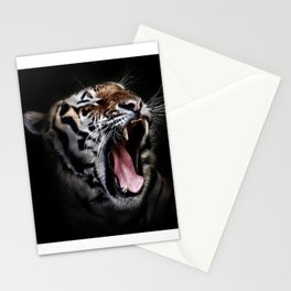 Save animal save Tiger Stationery Cards