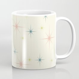Mid Century Modern Stars Coffee Mug