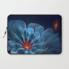 3D Blue Flower V2 Laptop Sleeve