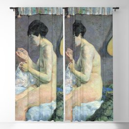 Paul Gauguin - Woman Sewing Blackout Curtain