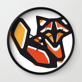 Anigami Fox Wall Clock