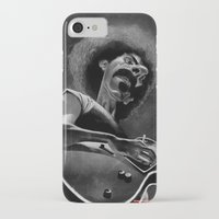 zappa iPhone & iPod Cases featuring Frank Zappa by Katon Aqhari