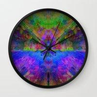 avatar Wall Clocks featuring Avatar by Assiyam