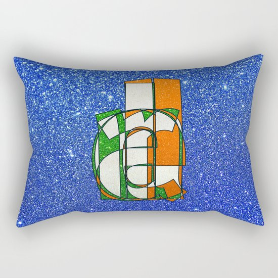IRELAND - Glitter Rectangular Pillow