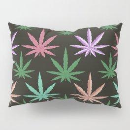 Marijuana Muted Colors Pillow Sham