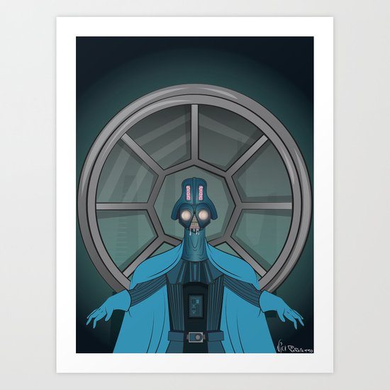 Consume The Galaxy Art Print