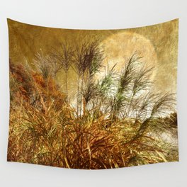 Golden Sunset  Wall Tapestry