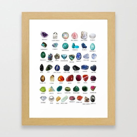 crystals gemstones identification by darkkittyrose