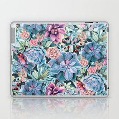 Succulents - For the Memory of a Never-ending Love Laptop & iPad Skin