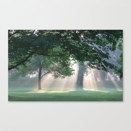 The Great Circle Earthworks  Canvas Print