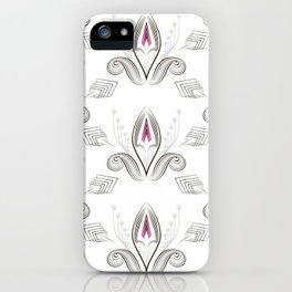 Art Deco 38. Rosebud . iPhone Case