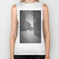 madrid Biker Tanks featuring Madrid by Jane Lacey Smith