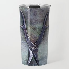 Old Scissors II Travel Mug
