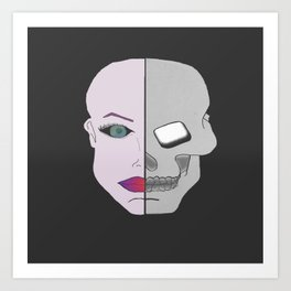 Jekyll and Hyde. Art Print