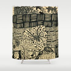cob web Shower Curtain
