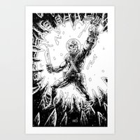 The Corpsewalker #2 Art Print