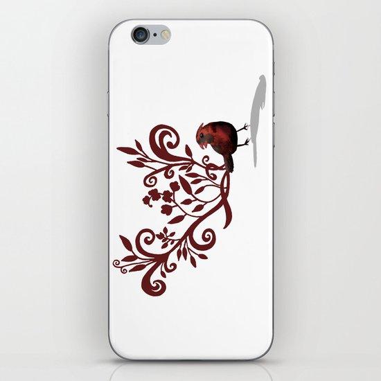Swirly Bird iPhone Skin