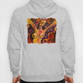 """""""Happiness Colorful Woman"""" Hoody"""