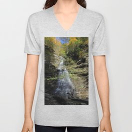 Almost heaven Fall fall Unisex V-Neck