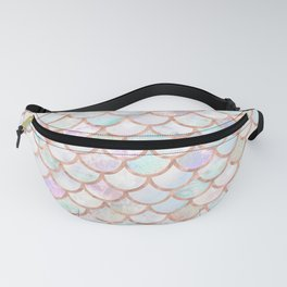 Pastel Memaid Scales Pattern Fanny Pack