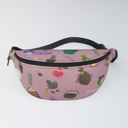 Copy of Assorted Witchery Repeating Pattern Pink Fanny Pack