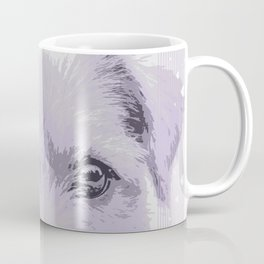 Curious little dog waiting for you - funny dog portrait Coffee Mug