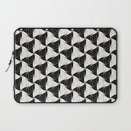 Trinity Pattern Black White Laptop Sleeve