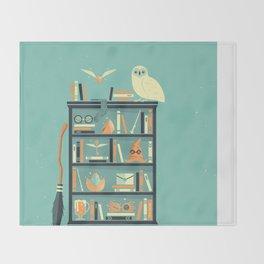Potter Shelf | Rowling Throw Blanket